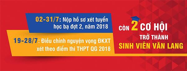 DH Van lang chinhsu NHTV XT2018 2