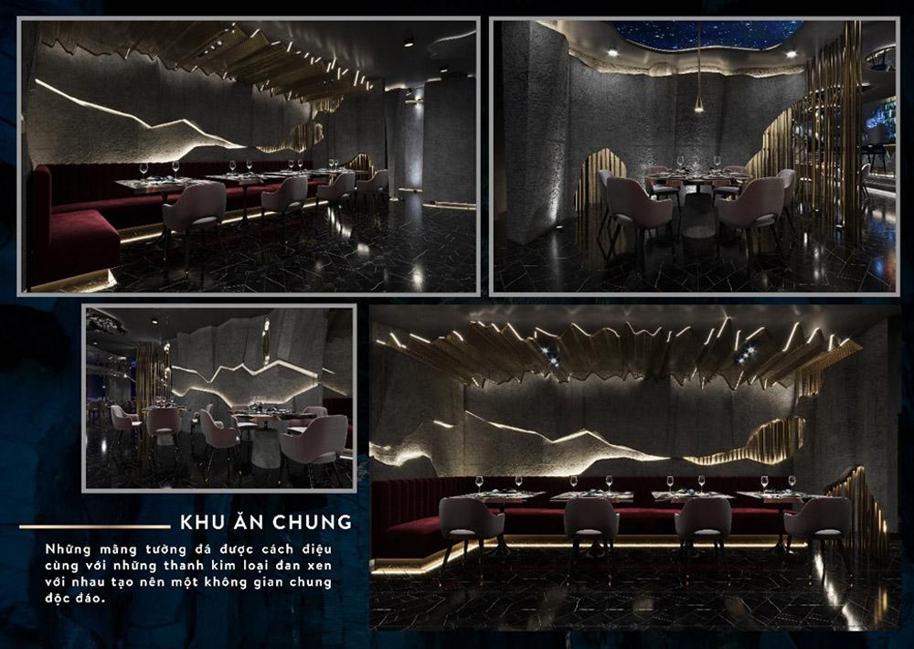 Đồ án thiết kế nội thất của sinh viên Mai Phạm Bảo Trân K21NT