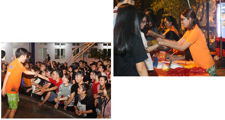 dh van lang hoa nhip cung event 55